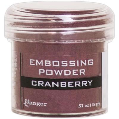 Ranger - Poudre à embosser couleur «Cranberry Metallic»