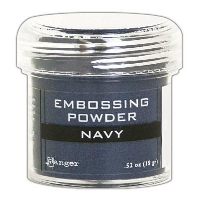 Ranger - Poudre à embosser couleur «navy»