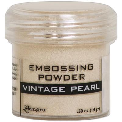 Ranger - Poudre à embosser couleur «Vintage Pearl»