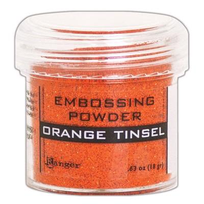 Ranger - Poudre à embosser couleur «Orange Tinsel»