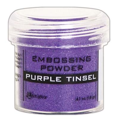 Ranger - Poudre à embosser couleur «Purple Tinsel»