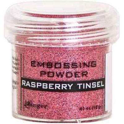 Ranger - Poudre à embosser couleur «Raspberry Tinsel»