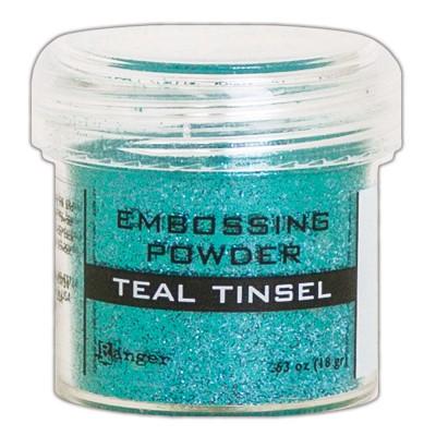 Ranger - Poudre à embosser couleur «Teal Tinsel»