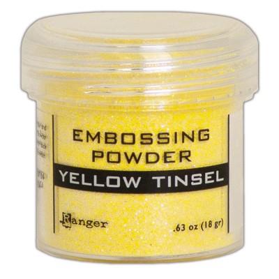 Ranger - Poudre à embosser couleur «Yellow Tinsel»