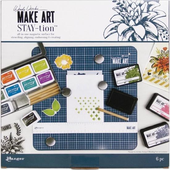 Wendy Vecchi - Planche magnétique «Make Art Stay-tion»