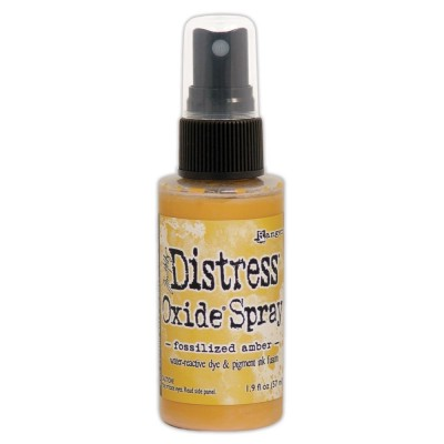 Distress Oxide Spray 1.9oz couleur «Fossilized Amber»