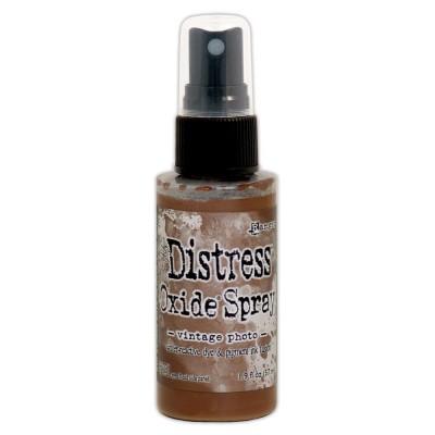 Distress Oxide Spray 1.9oz couleur «Vintage Photo»