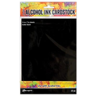 """Ranger - Paquet de 10 cartons 5"""" X 7"""" pour «Alcohol Ink»"""