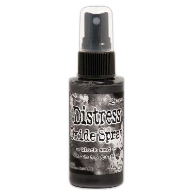 Distress Oxide Spray 1.9oz couleur «Black Soot»