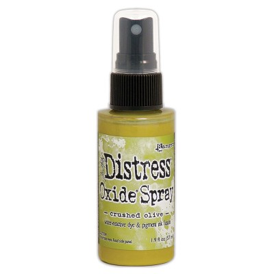 Distress Oxide Spray 1.9oz couleur «Crushed Olive»