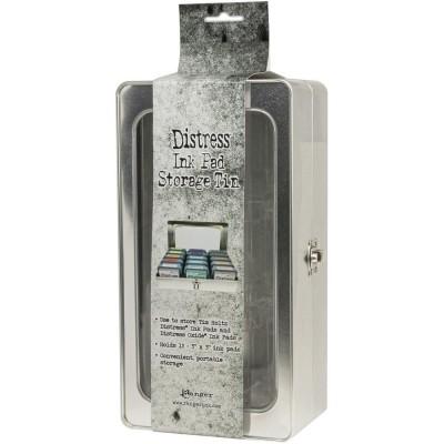 Tim Holtz - Boîte de rangement en métal pour «Distress Ink pad»