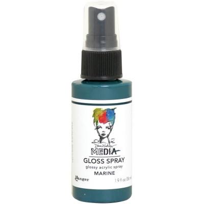 Dina Wakley -  «Acrylic Gloss Sprays» couleur «Marine» 2 oz