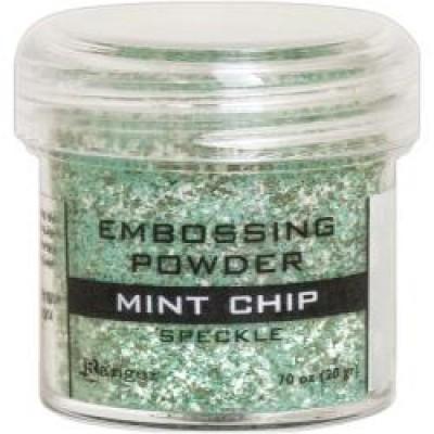 Ranger - Poudre à embosser couleur «Mint Chip»