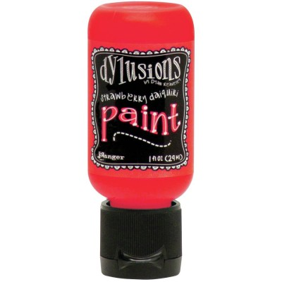 Dylusions - Peinture acrylique «Strawberry Daiquiri» 1oz