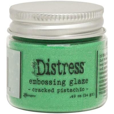 Ranger - Embossing Glaze de Tim Holtz «Cracked Pistachio» 0.49 oz