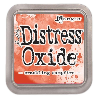 Distress Oxide Ink Pad - Tim Holtz - couleur «Crackling Campfire»