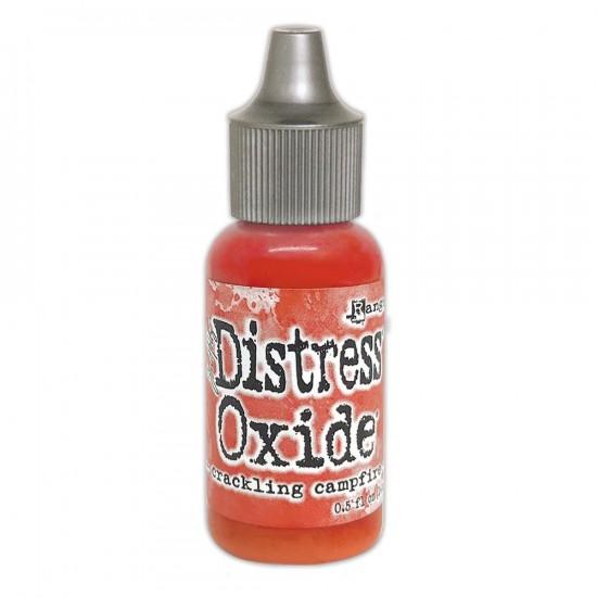 Distress Oxides Reinkers - Tim Holtz- couleur «Crackling Campfire»