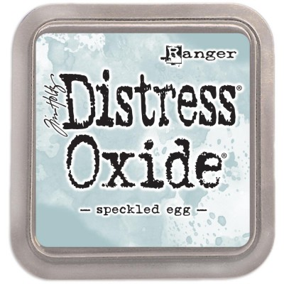 Distress Oxide Ink Pad - Tim Holtz - couleur «Speckled Egg»