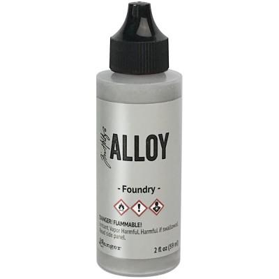Tim Holtz - Encre  Alloy couleur «Foundry» 2oz