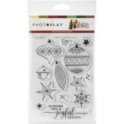 Photo Play - «Christmas Memories» Ensemble d'estampes 13  pièces