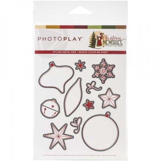 Photo Play - «Christmas Memories» Ensemble de dies 11 pièces