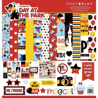 "PhotoPlay - Bloc de  papier double face «Another Day at the Park» 12""X 12""   12 feuilles"