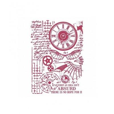 Stamperia - Stencil «Voyages fantastiques»