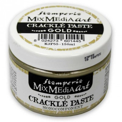 Stamperia - Crackle Paste couleur «Gold» (150ml)