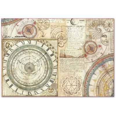 Stamperia - Papier de riz «Alchemy Astronomy»