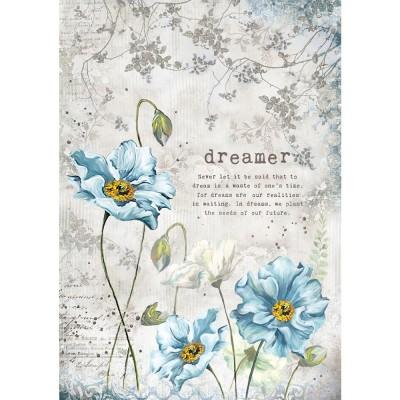 Stamperia - Papier de riz «Dreamer»
