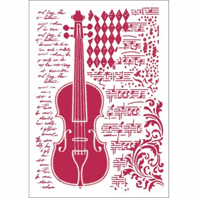 Stamperia - Stencil «Violin»
