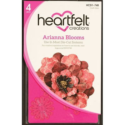 Heartfelt Creations  - Matrices de découpe «Arianna Blooms»