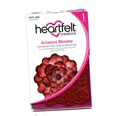 Heartfelt Creations  - Estampes «Arianna Blooms» 5 pièces