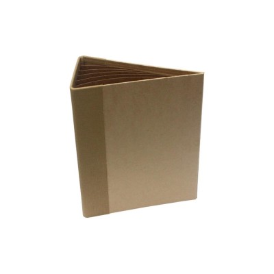"Heartfelt Creations  -  album «3D Flip Fold Album 7""X9"" Kraft»"