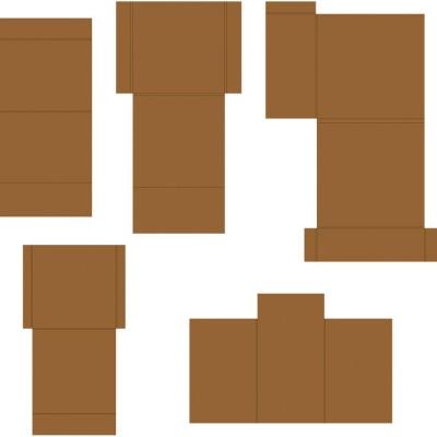 Heartfelt Creations  - Insertions pour album Flip Fold «Pocket & Flipfold insertions C-Kraft»