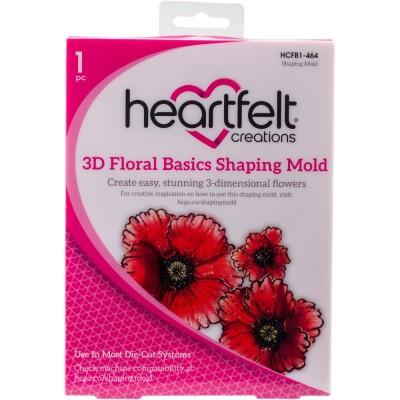 Heartfelt Creations  -  Moules pour fleurs 3D