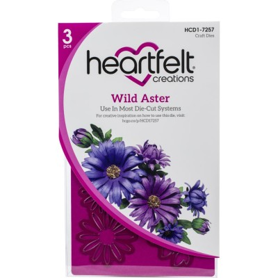 Heartfelt Creations  - Matrices de découpe «Wild Aster»