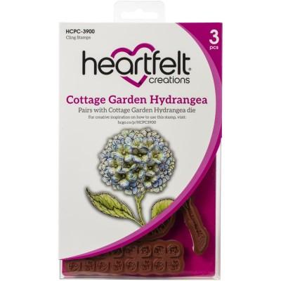 Heartfelt Creations  - Estampes «Hydrangea» 3 pièces