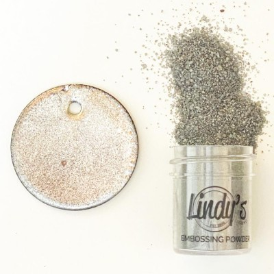 Lindy's Stamp Gang - 2-Tone Embossing Powder  «Chrome Doesn't Pay» 0.5 oz