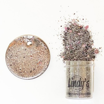 Lindy's Stamp Gang - 2-Tone Embossing Powder  «That's Marble-Ous» 0.5 oz