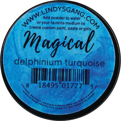 Lindy's Stamp Gang -Magicals Individual Jar «Delphinium Turquoise» 0.25 oz