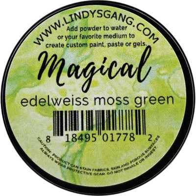 Lindy's Stamp Gang -Magicals Individual Jar «Edelweiss Moss Green» 0.25 oz