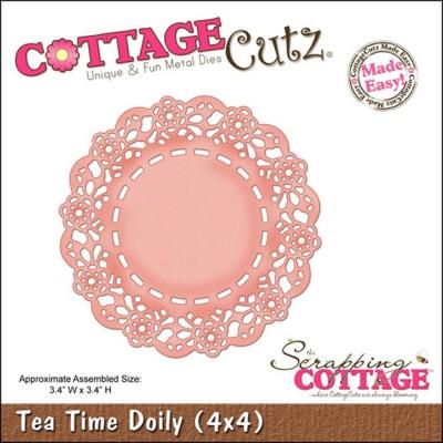 """Cottage Cutz - Dies «Tea Time Doily» 3.4"""""""