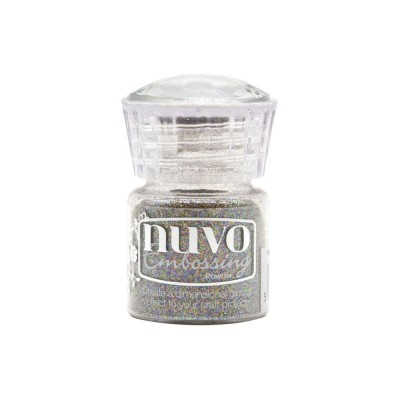Nuvo - Poudre à embosser «Glitter embossing» couleur «Twinkling Tinsel»