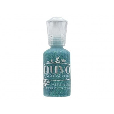 NUVO: Glitter Drops  couleur «Emerald City» 760N