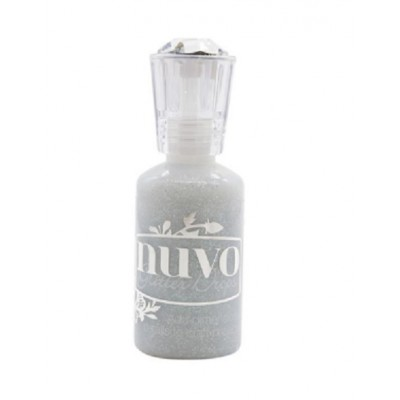 NUVO - Glitter Drops  couleur «Silver Crystals» 774n