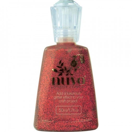 NUVO -  Glitter Accents «Winter Cranberry» 50ml