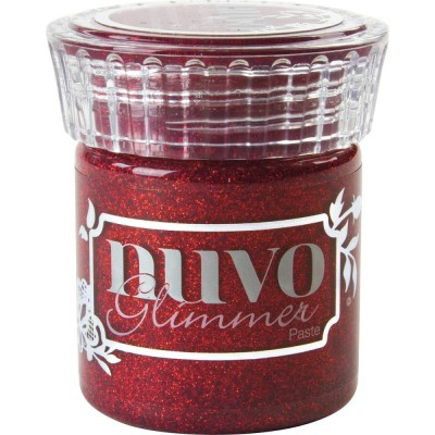NUVO - Glimmer Paste couleur 954 Garnet Red