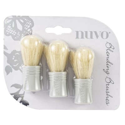 Nuvo - Ensemble «Blending Brushes» 3/Pkg