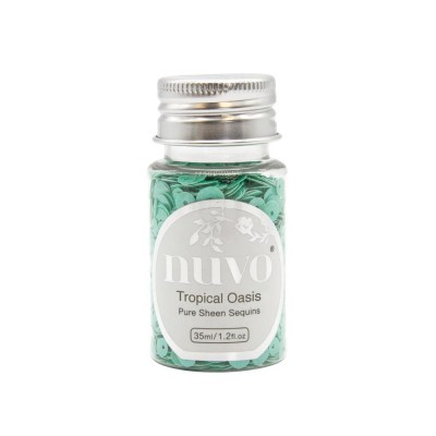 Nuvo - Embellissement «Pure Sheen» couleur « Tropical Oasis»